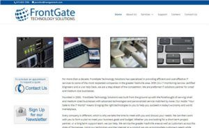 IT Solutions Websites Nashville Small Business WordPress Website Design